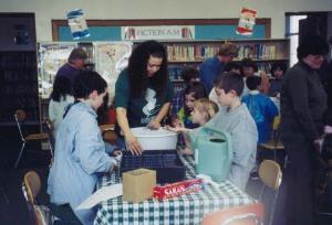 Container Gardening, Lafayette School, Newark